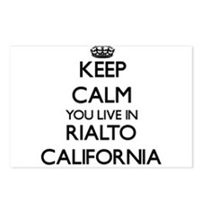Keep calm you live in Ria Postcards (Package of 8)