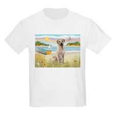 Rowboat & Yellow Lab T-Shirt