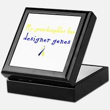 Designer Genes Grandaughter Ribbon Keepsake Box