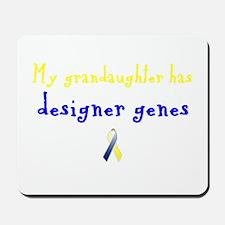 Designer Genes Grandaughter Ribbon Mousepad