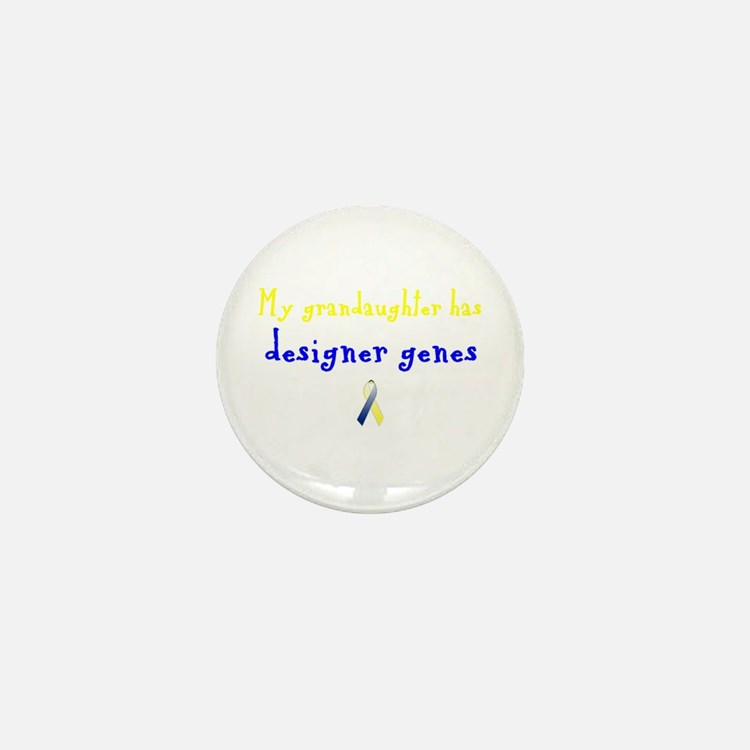 Designer Genes Grandaughter Ribbon Mini Button