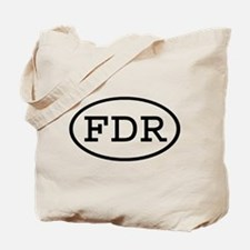 FDR Oval Tote Bag