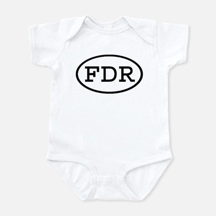 FDR Oval Infant Bodysuit