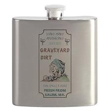 GRAVEYARD DIRT Flask