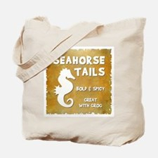 SEAHORSE TAILS Tote Bag