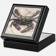 Chesapeake Bay Blue Crab Keepsake Box