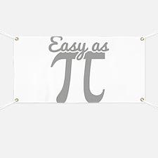 Easy As Pi Banner