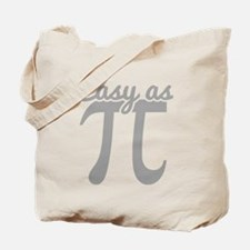 Easy As Pi Tote Bag