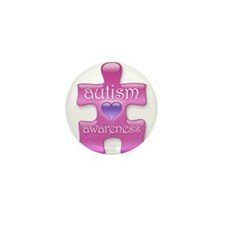 Autism Awareness (P) Mini Button (10 pack)