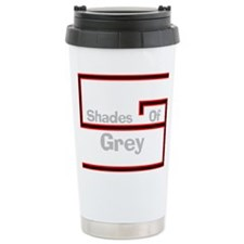 Unique Shades of grey Travel Mug