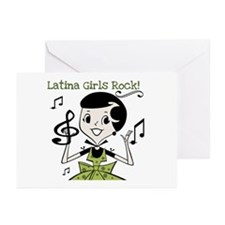 Latina Girls Rock Greeting Cards (Pk of 10)