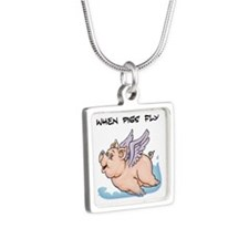 When pigs fly Necklaces