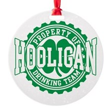Hooligan Irish Drinking Team Ornament