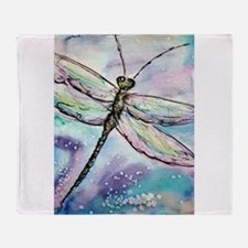 Dragonfly! Nature art! Throw Blanket