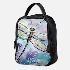 Dragonfly! Nature art! Neoprene Lunch Bag