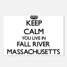Keep calm you live in Fal Postcards (Package of 8)