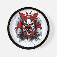 Funny Samurai art Wall Clock