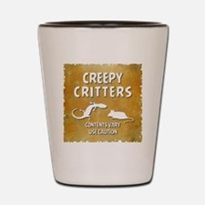 CREEPY CRITTERS Shot Glass