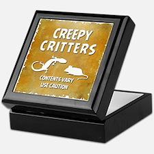 CREEPY CRITTERS Keepsake Box