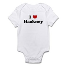 I Love Hackney Infant Bodysuit