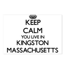Keep calm you live in Kin Postcards (Package of 8)