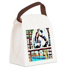 White Horse Canvas Lunch Bag