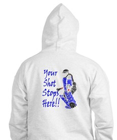 Field Hockey Goalie - Blue - Hoodie