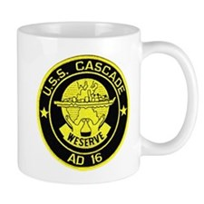 USS CASCADE Small Mug