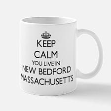 Keep calm you live in New Bedford Massa Mug