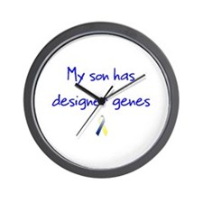 Designer Genes Son Ribbon Wall Clock