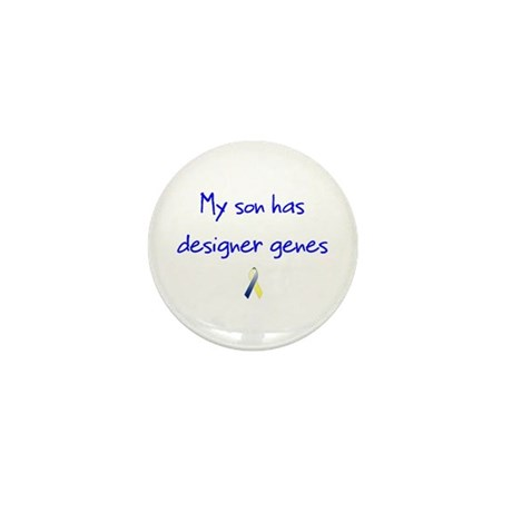 Designer Genes Son Ribbon Mini Button (10 pack)