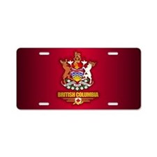 British Columbia COA Aluminum License Plate