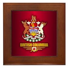 British Columbia COA Framed Tile