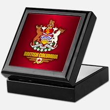 British Columbia COA Keepsake Box
