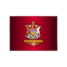 British Columbia COA 5'x7'Area Rug