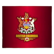 British Columbia COA King Duvet
