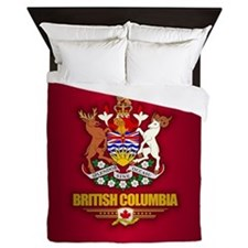 British Columbia COA Queen Duvet