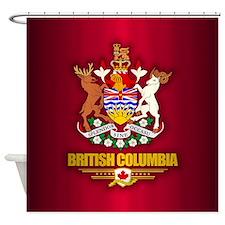 British Columbia COA Shower Curtain