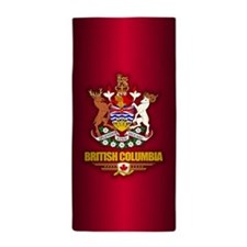 British Columbia COA Beach Towel