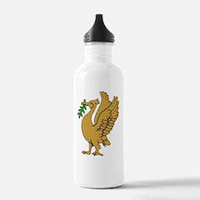Gold Liverbird Water Bottle