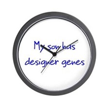 Designer Genes Son Wall Clock