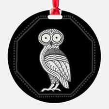 Athena's Owl Ornament