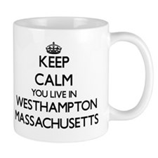 Keep calm you live in Westhampton Massa Mug