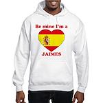 Jaimes, Valentine's Day Hooded Sweatshirt