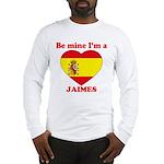 Jaimes, Valentine's Day Long Sleeve T-Shirt