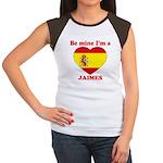 Jaimes, Valentine's Day Women's Cap Sleeve T-Shirt