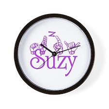 Suzy Wall Clock