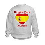 Jaimes, Valentine's Day Kids Sweatshirt