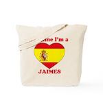Jaimes, Valentine's Day Tote Bag