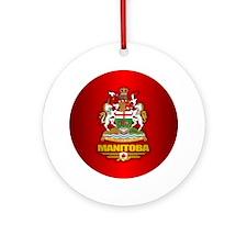 Manitoba COA Ornament (Round)